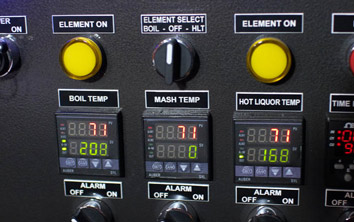 Brewery Control Panel Tags